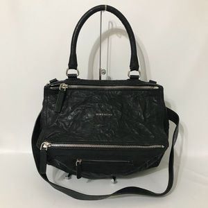 Authentic Givenchy Medium Pandora Pepe Leather